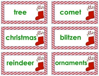 Word Sort - Common and Proper CHRISTMAS Nouns