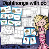 Word Sort Diphthongs oo with No Prep Printables and Game