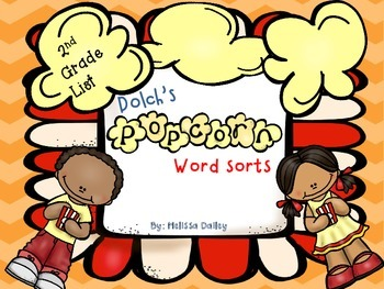 Word Sort - Dolch Second Grade List