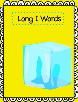 Word Sort File Folder Activity/Literacy Center ~ Long I/Short I