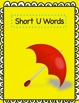 Word Sort File Folder Activity/Literacy Center ~ Long U/Short U