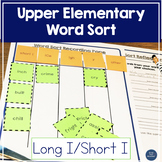 Word Sort Long I short I - Upper Elementary