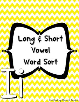 Word Sort {Long & Short I}