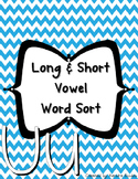 Word Sort {Long & Short U}