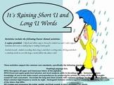 Word Sort - Long U and Short U Words