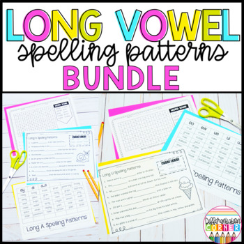 Long Vowel Worksheets Bundle
