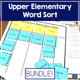 Word Sort Bundle - Upper elementary