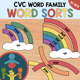 CVC Rainbow Word Sort