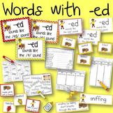 Word Sort -ed endings Henry and Mudge