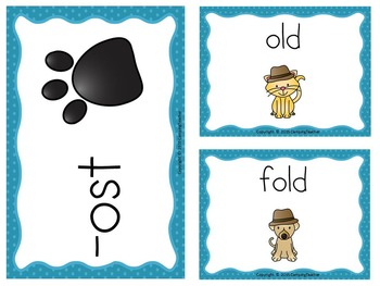 Word Sort old, oll, and ost Story How to be a Nature Detective