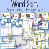 Word Sort /ur/ ear, ir, ur, er Helping Out