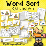 Word Sort wh and qu Story Tomas Rivera