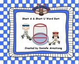 Word Sort with Short A and Short U Vowels
