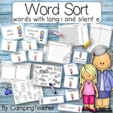 Word Sort with words that contain long i and silent e Story Tell Me a Story