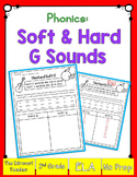 Word Sorting! Hard & Soft G Sound