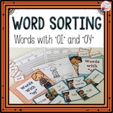 """Word Sorts """"oy"""" and """"oi"""""""