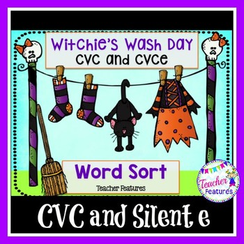 Halloween Sorts (CVC and CVCe)