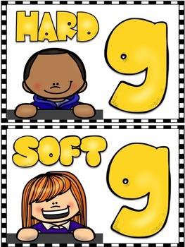 Soft G, Hard G, Soft C, Hard C WORD SORTS
