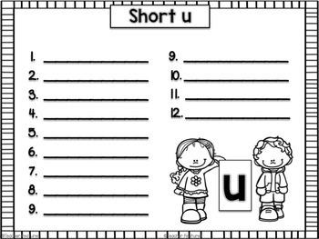 Short Vowel Sorts Pack