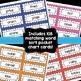 Word Sorts Activity Bundle First Grade {Pocket Chart Cards