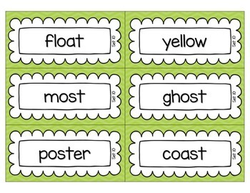 Word Sorts Activity Bundle Second Grade {Pocket Chart Cards and Activity Sheets}