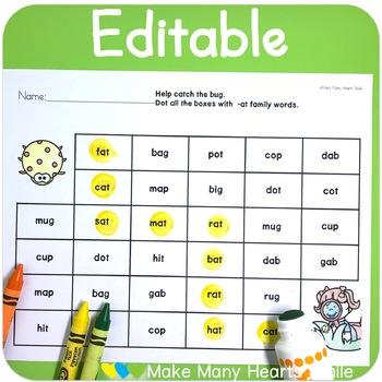 Editable Make Me Smile Kit: Bugs