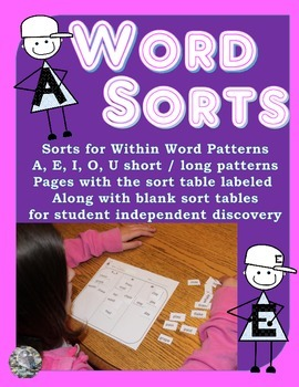 Word Sorts For Within Word Patterns