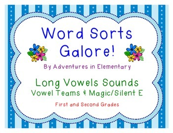 Word Sorts Galore: Long Vowel Sounds with Vowel Teams and Magic E