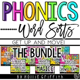 Word Sorts {Get up and MOVE!} THE BUNDLE
