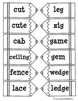 Word Sorts {Hard/Soft C and G}