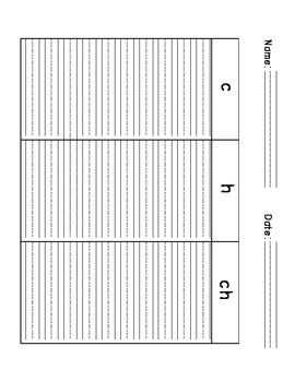 Word Sorts Interactive Notebook Templates: Digraphs ch, sh, th, wh