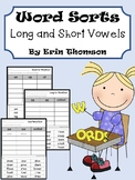 Word Sorts - Long and Short Vowels