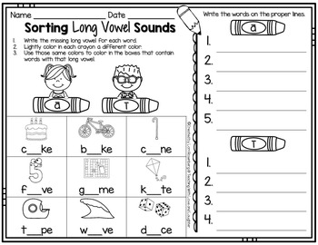 Word Sorts {Sorting Sounds Edition}