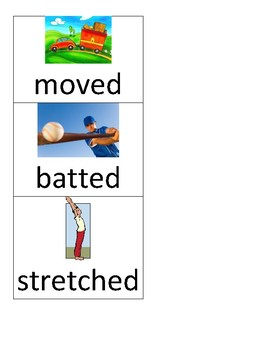 Word Sorts: Three Sounds of ed