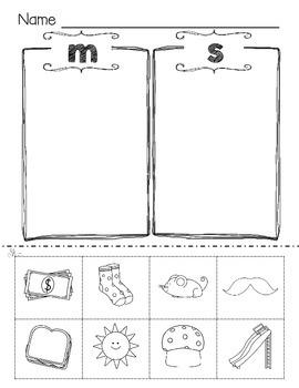 Word Sorts for Reading Wonders Smart Start week 1
