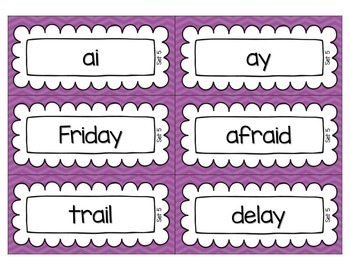Word Sorts for Second Graders FREEBIE
