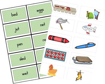 Word Sorts with Pictures-Short Vowel Sounds