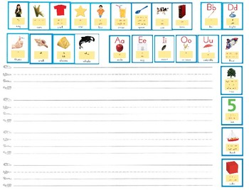 Word/Sound Card Practice Sheet