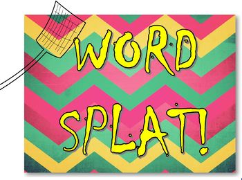 Word Splat Vocabulary Game