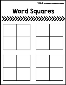 McGraw Hill Wonders Word Squares for Vocab - Worksheet, Composition, and GOOGLE!