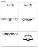 Word Stem Families List 3