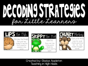 Word Strategy Posters