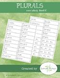 Word Study A- Plurals