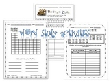 Word Study Activities