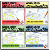 Word Study Word Search Bundle {2nd Edition}
