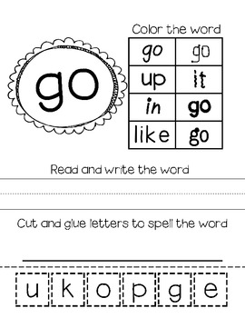 mClass Word Study- Aligned with List A