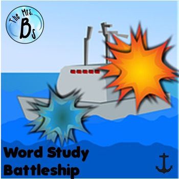 Word Study Battleship - A Spelling Studying Game