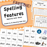 Word Study Beginning Blends Made Easy FREEBIE!