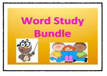 Word Study Bundle