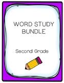 Word Study BUNDLE (2nd Grade)